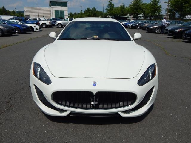 2016 Maserati Bianco Eldorado GranTurismo Sport For Sale