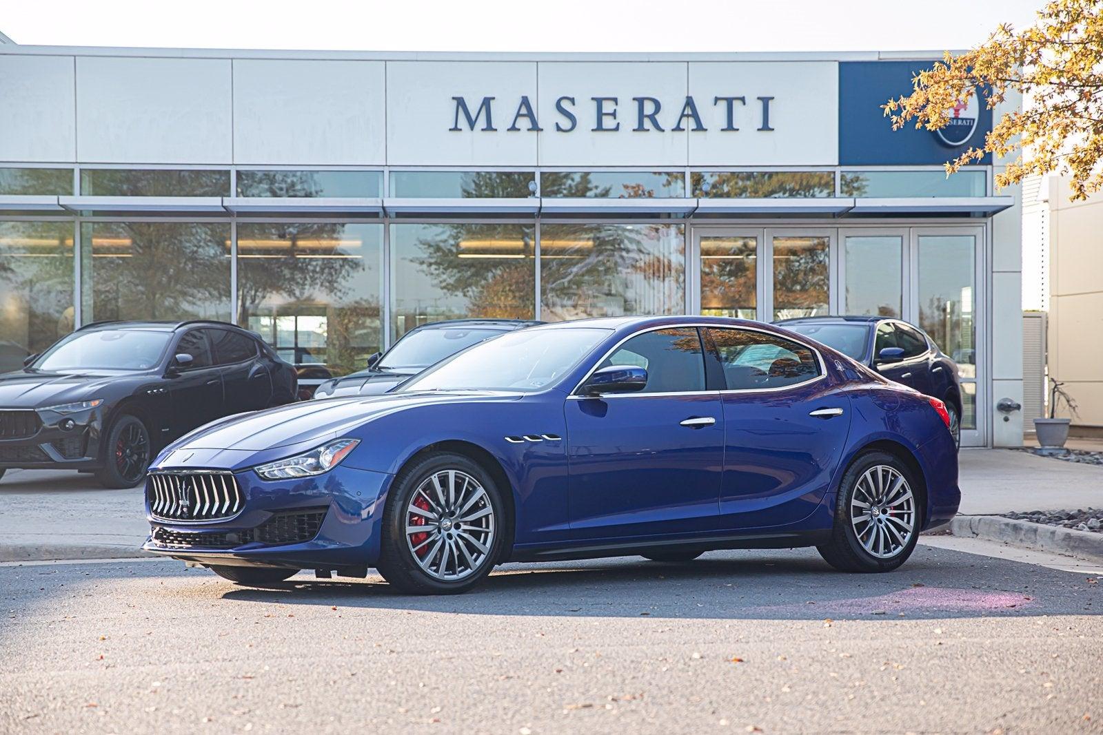 Maserati Q4 Price >> 2019 Maserati Blu Emozione Ghibli S Q4 For Sale Maserati Washington Dc