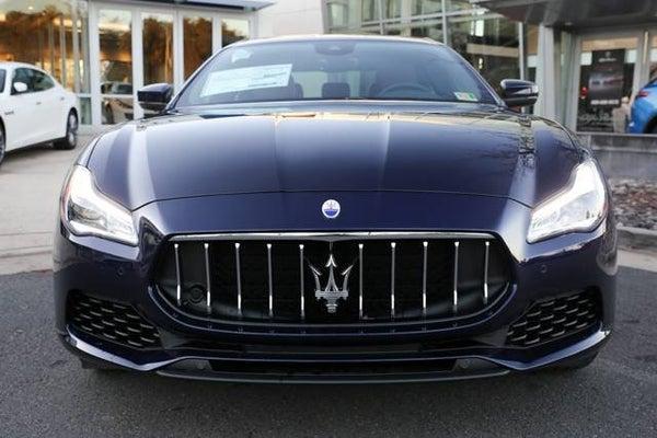 2019 Maserati Blue Passione Metallic Quattroporte S Q4 For Sale
